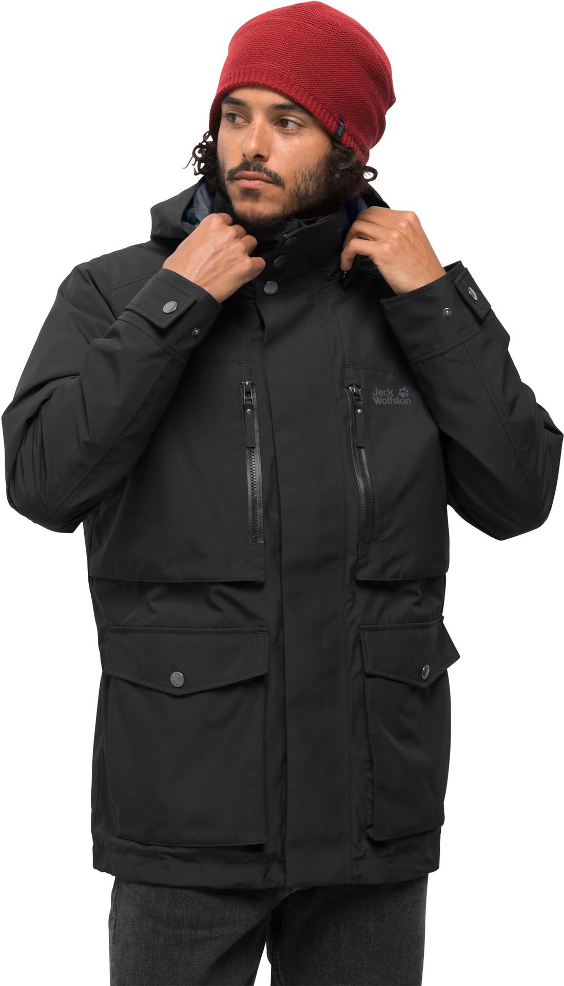 Jack Wolfskin Bridgeport Bay Jacket Herren black